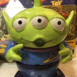 議價不回 陶瓷 存錢桶 三眼怪 公仔 玩具總動員 toy story alien