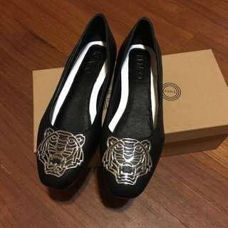 kenzo山羊皮娃娃鞋