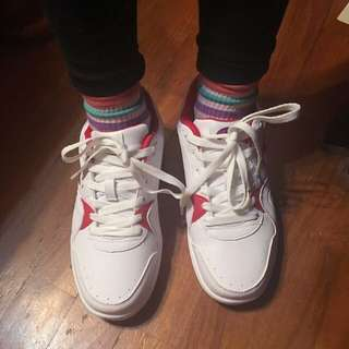 champion紅白復古低筒運動鞋