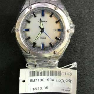 Citizen Eco Drive Titanium BM7130-58A (Clearance Sale)