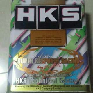 HKS FULLY  SYNTHETIC ENGINE OIL