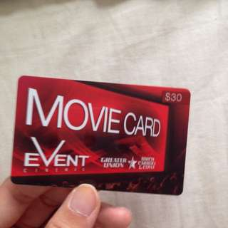 Events Gift Card