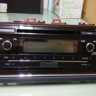Toyota 全新原廠音響設備 ( $1680 不含運喔)