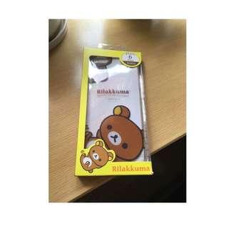 拉拉熊 iPhone 6 plus 透明 手機硬殼