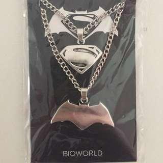 Batman V Superman Necklace