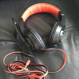 BNIB Lupuss G1 Stereo Headset With Mic
