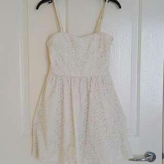 VALLEYGIRL White Dress