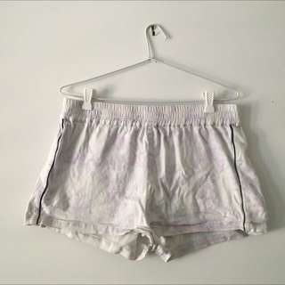 Indikah White Shorts