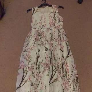 Floral Maxi Dress Size 12