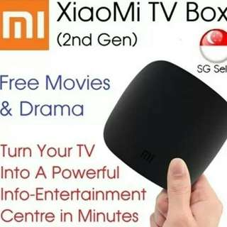 Mibox 2nd Gen. (Converted To English and with Movie/TV Apps Loaded. 1gb Ram 4gb Rom)