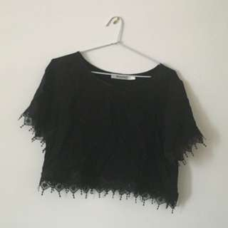 Mombasa Lace Crop Top