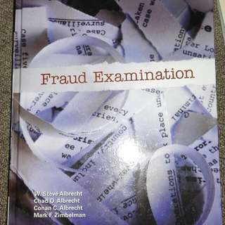 Fraud Examination 4E