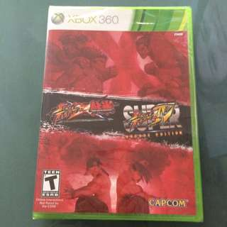 Street Fighter X Tekken And Super Street Fighter IV: Arcade Edition