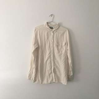 BDG Cotton Button Up Shirt