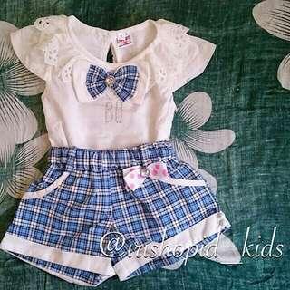 Baju Setelan Anak Perempuan 0-12 Bulan
