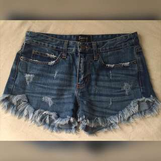 Size 8 Bardot Denim Shorts