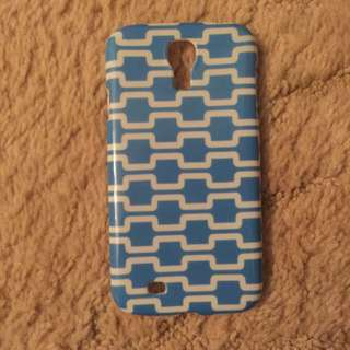 Samsung S4 Blue And White Phone Case