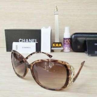 Kacamata chanel -leopard-