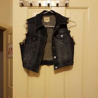 Denim Vest Size Small