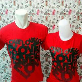 Kaos Couple Murah Love
