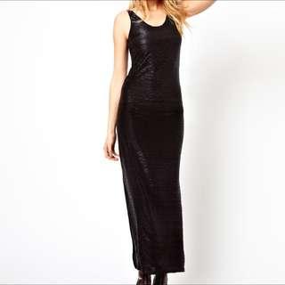 ASOS Long Black Dress