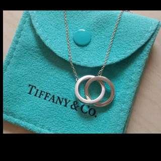 Tiffany & co - Tiffany 1837 interlocking circles pendant necklace