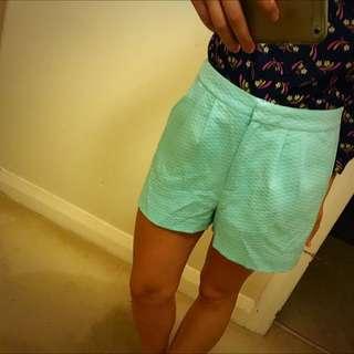 Forever New Light Blue Shorts