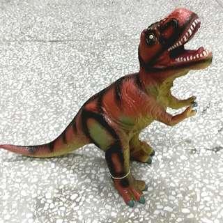 恐龍 娃娃 玩偶 暴龍 玩具 模型