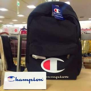 🇯🇵日線Champion 日本直送 🇯🇵早春新款 Champion大LOGO後背包 保證真品 實體店購買