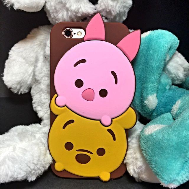 *全新*IPhone 6/6s 4.7 TSUM小熊維尼小豬手機殼