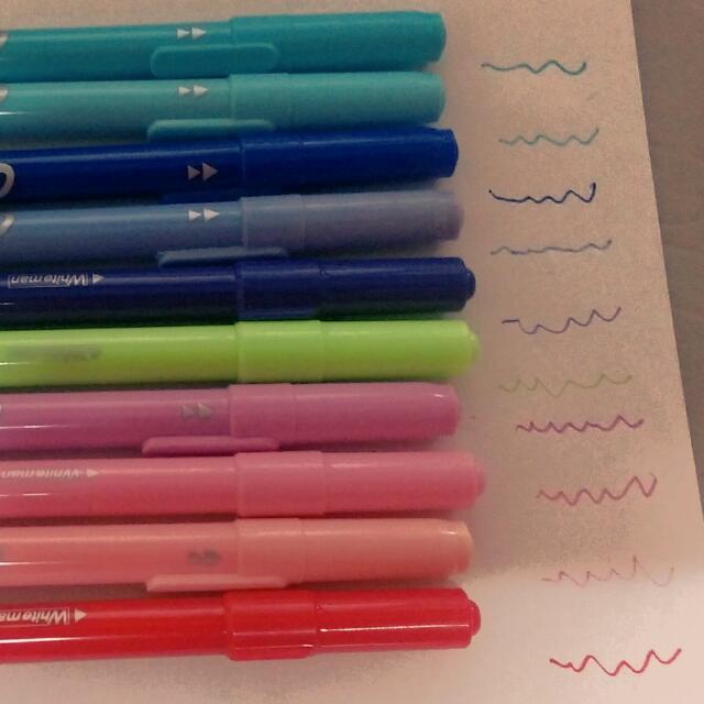 多色,手帳用筆,細頭可書寫畫畫