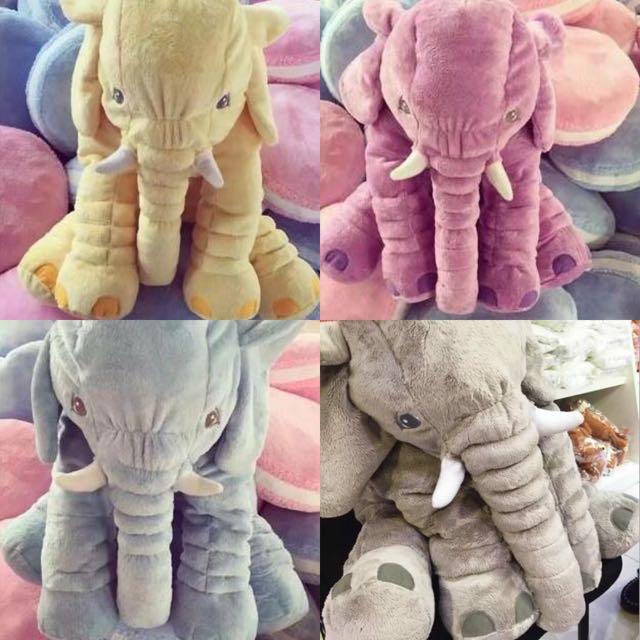 彩色新款宜家寶寶安撫象大象娃娃
