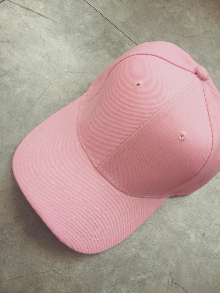 經典百搭復古棒球帽(粉色)