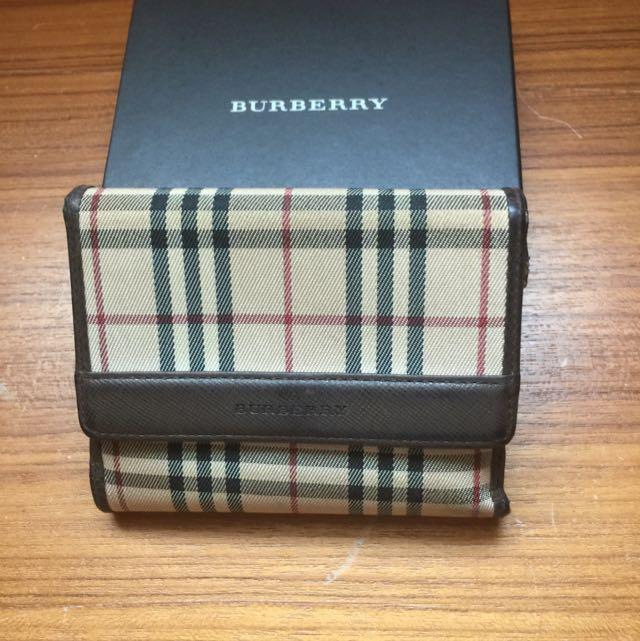 正~BURBERRY短夾