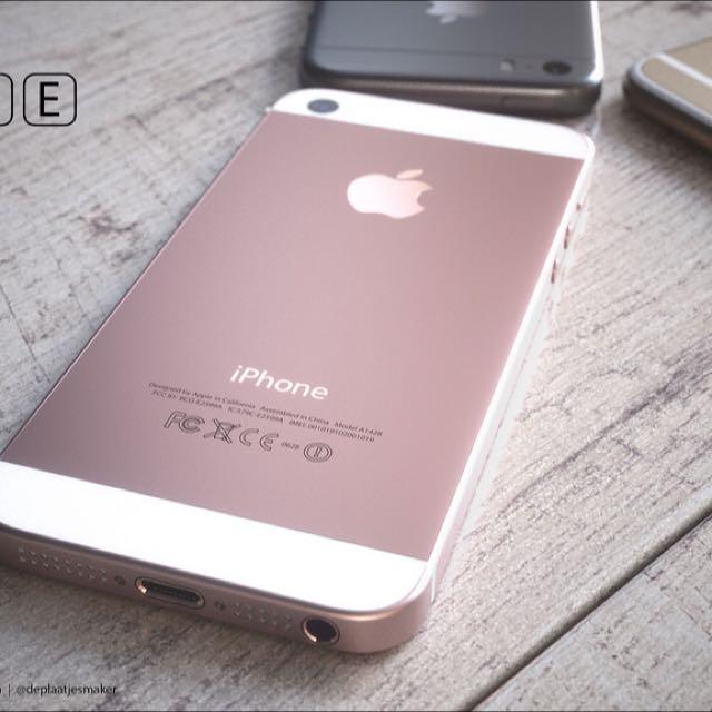 iPhone SE 預購-粉紅色