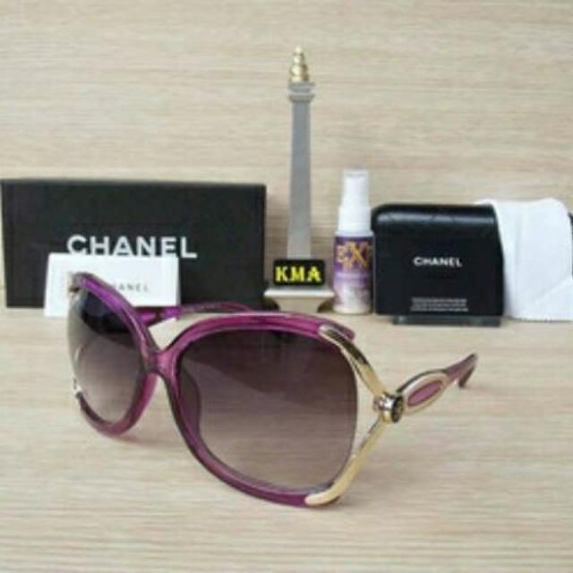 Kacamata channel purple