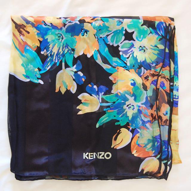 Kenzo silk scarf new