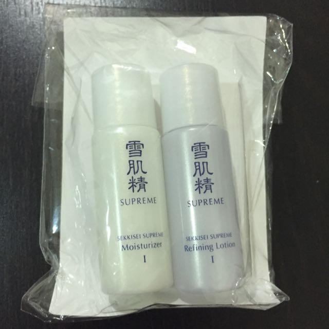 KOSE 高絲 雪肌精極淬 化妝水+乳液 兩組