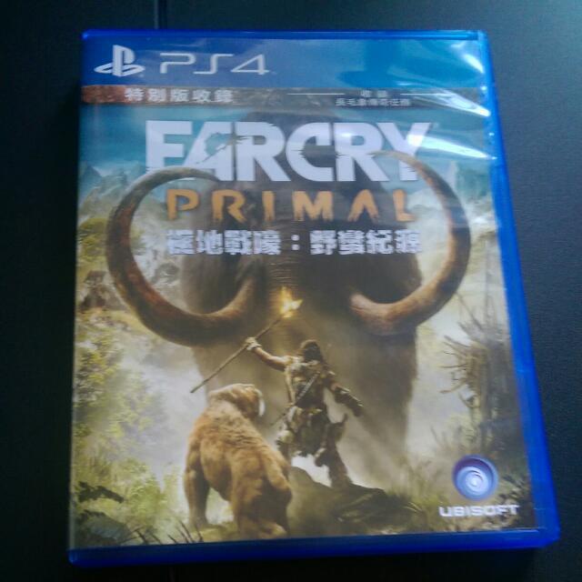PS4 極地戰嚎 野蠻紀源(特典未用)