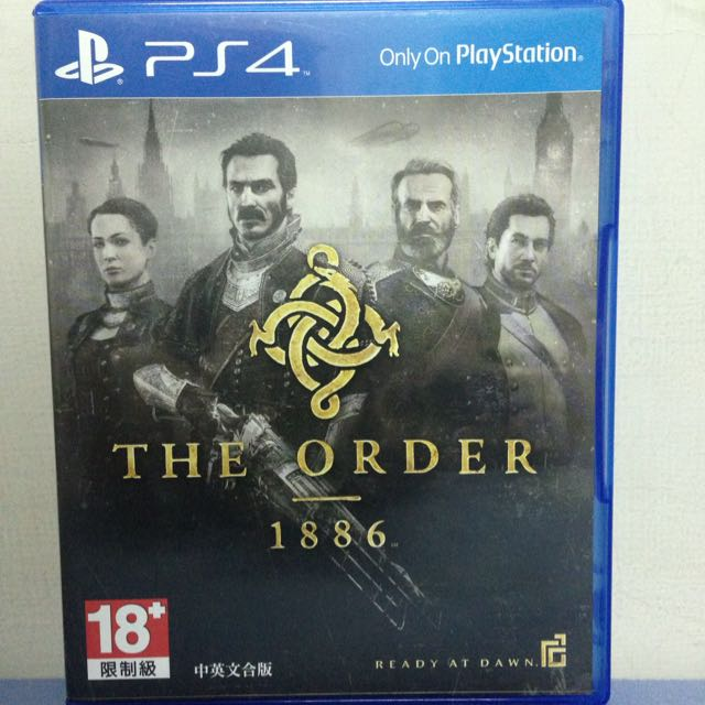PS4 The Order 1886 中英文合版