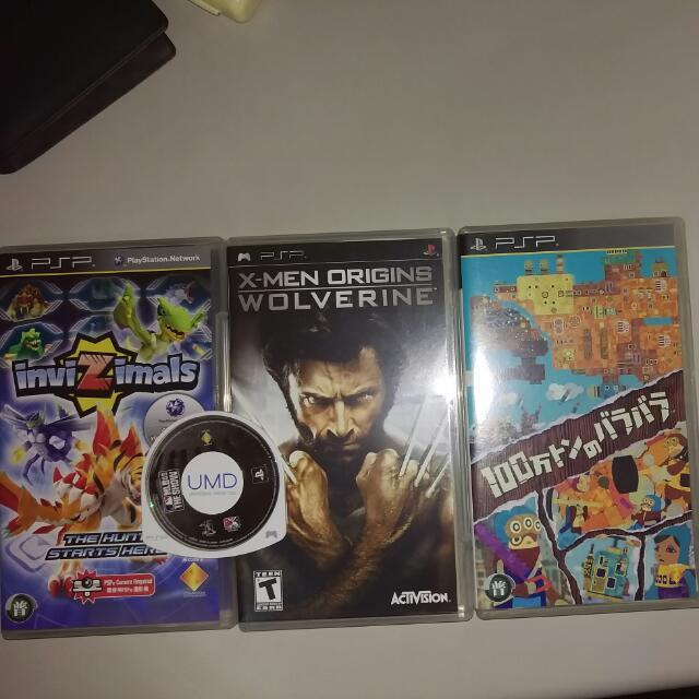 PSP遊戲片