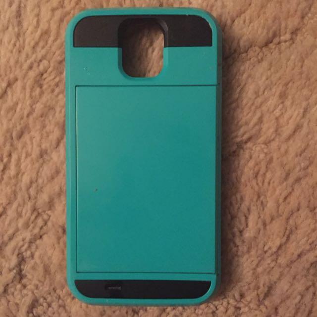 Teal Samsung S4 Slide Case