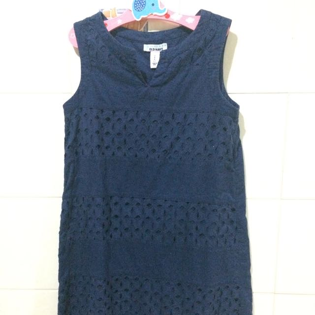 Used Old Navy Blue Dress