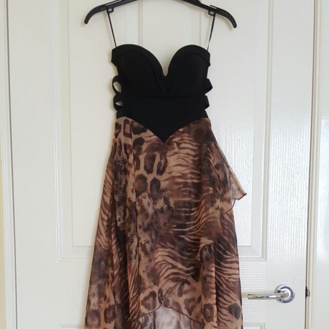 VALLEYGIRL Leopard Dress