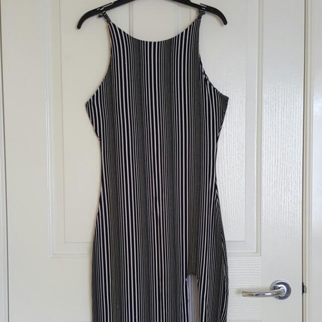TEMT Stripey Long Dress