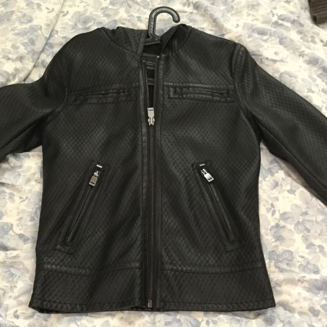 ZARA Leather Jacket Size S