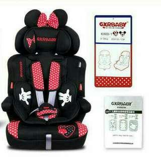 安全座椅 GXRBABY汽車安全座椅 米奇 米妮 維尼