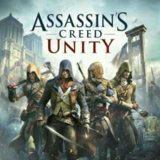 PRE LOVED USED XBOX ONE GAME ASSASIN CREED UNITY