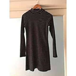 Glassons Stripey Dress Size S
