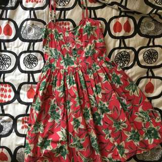 Reduce- Floral Pink Dress For Summer Look